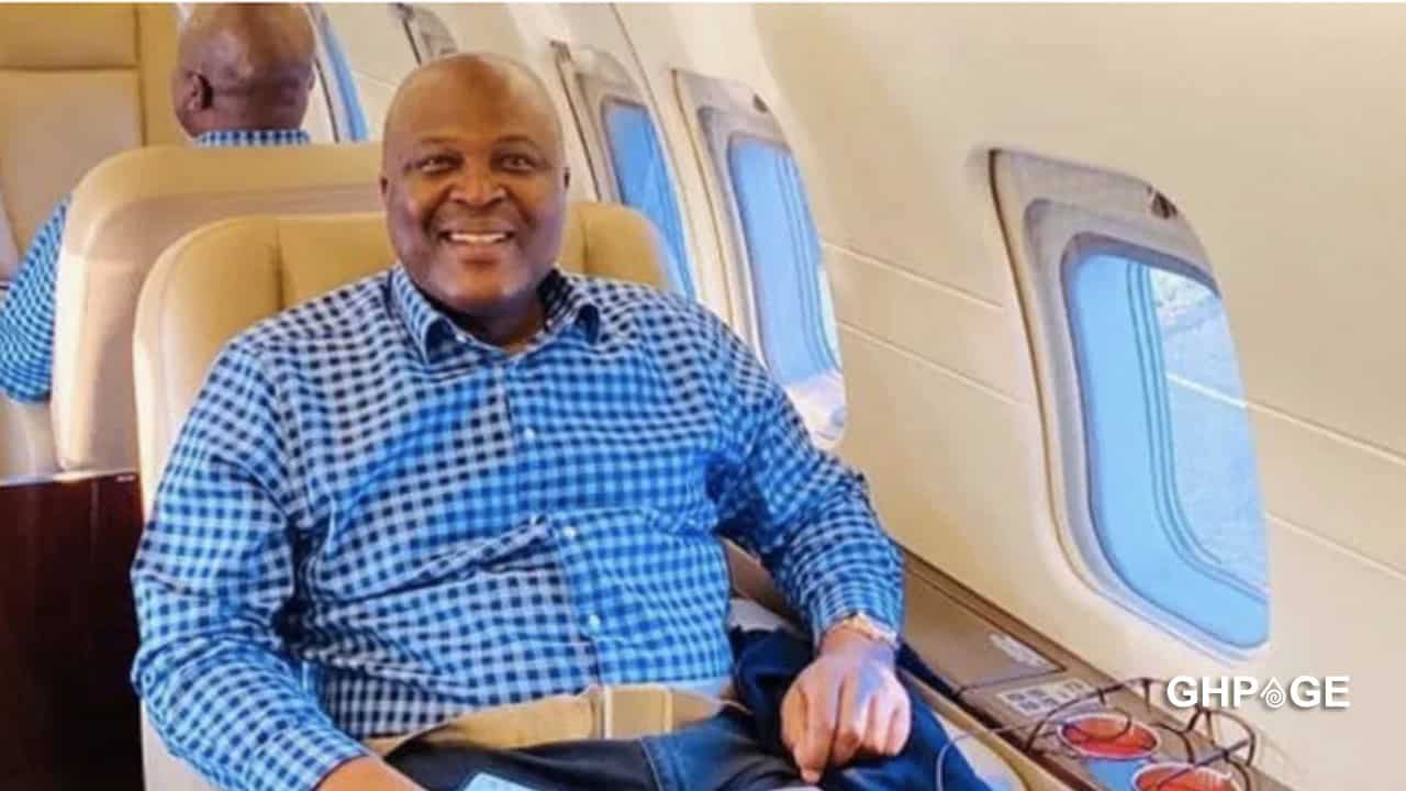 Ibrahim Mahama acquires a customized private jet