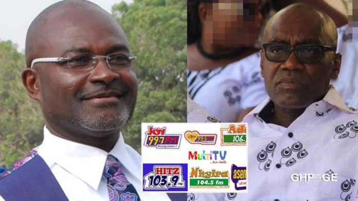 Kennedy Agyapong warns CEO of Multimedia Kwasi Twum
