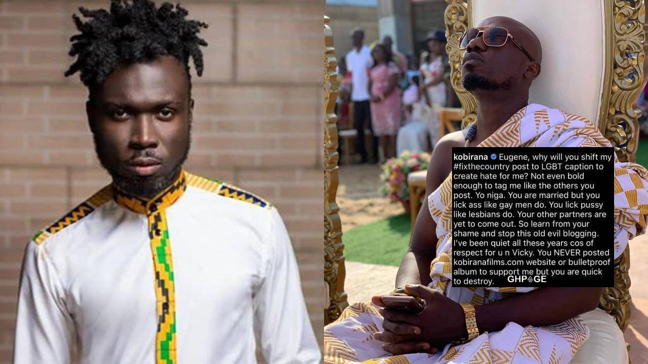 Kobi Rana attacks and exposes Blogger Nkonkonsa