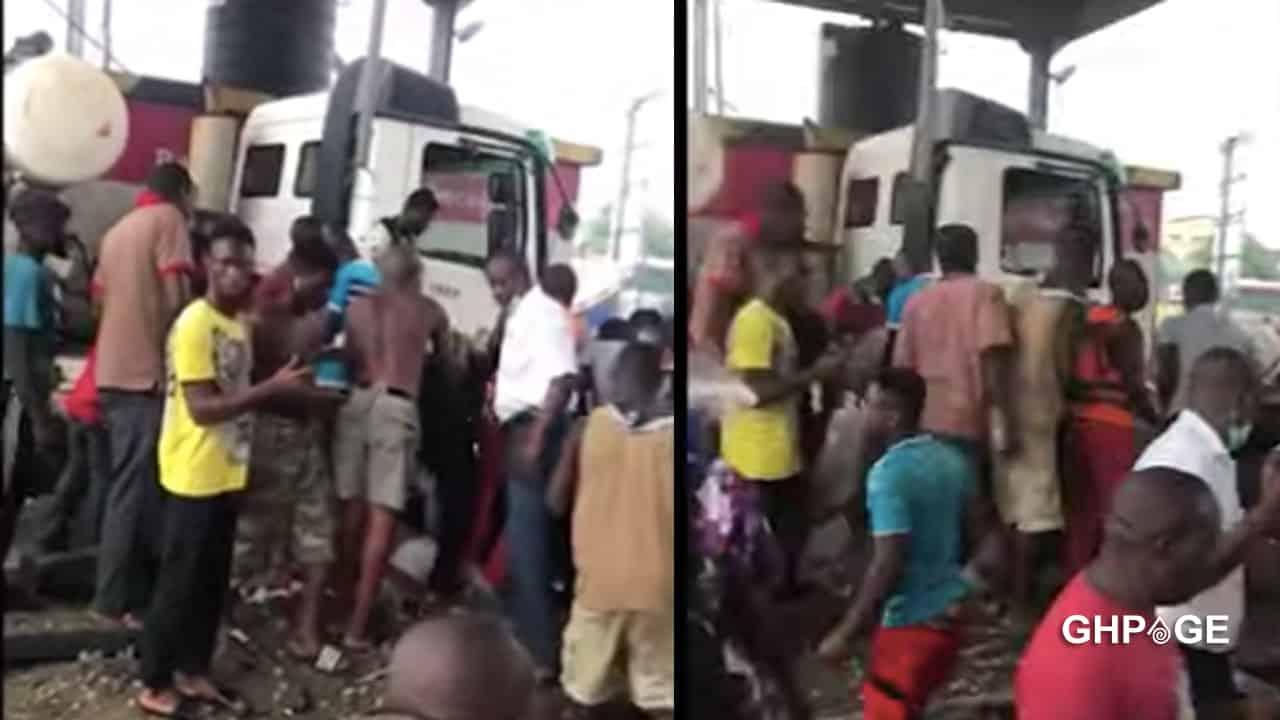Tema-Motorway: Truck slams into toll booth