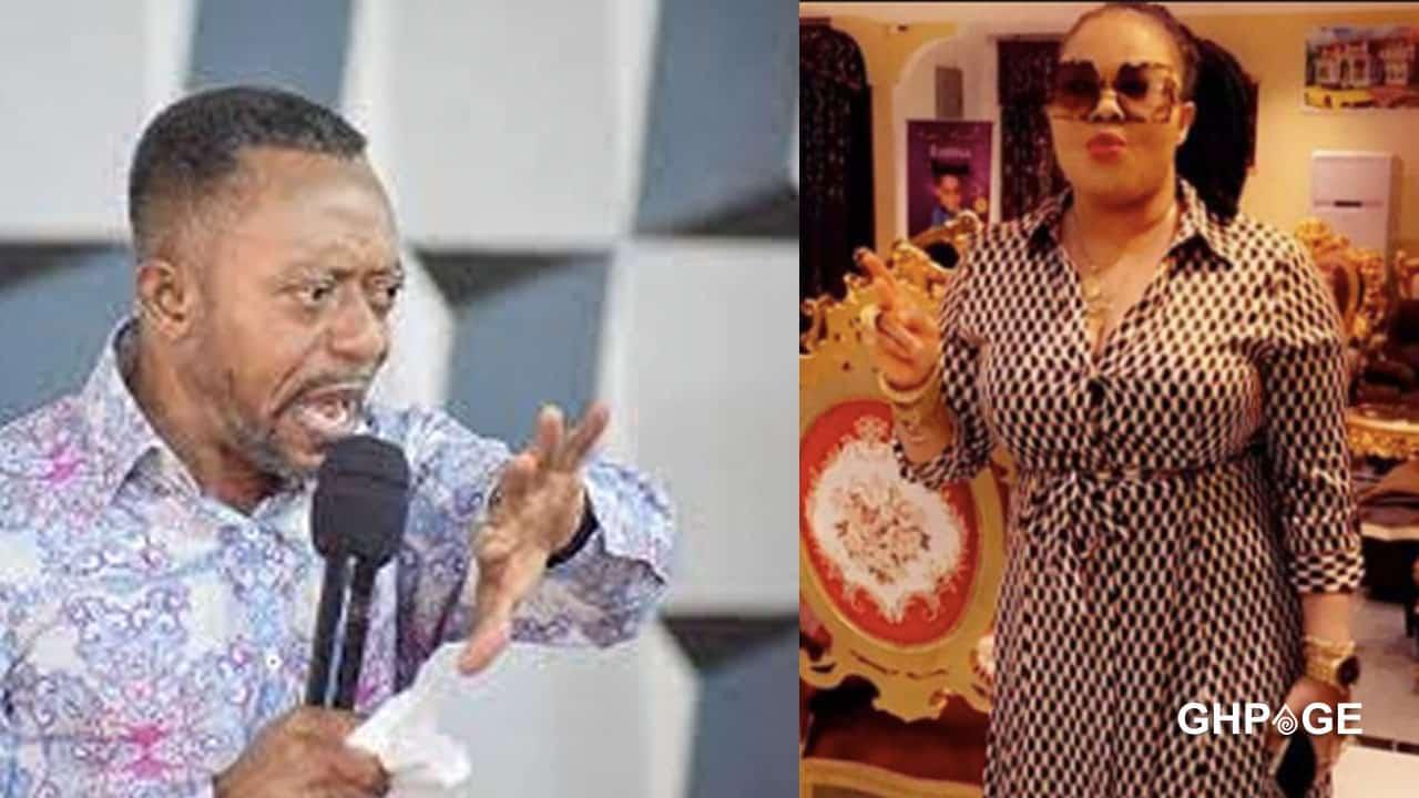 Owusu Bempah bares teeth at Nana Agradaa