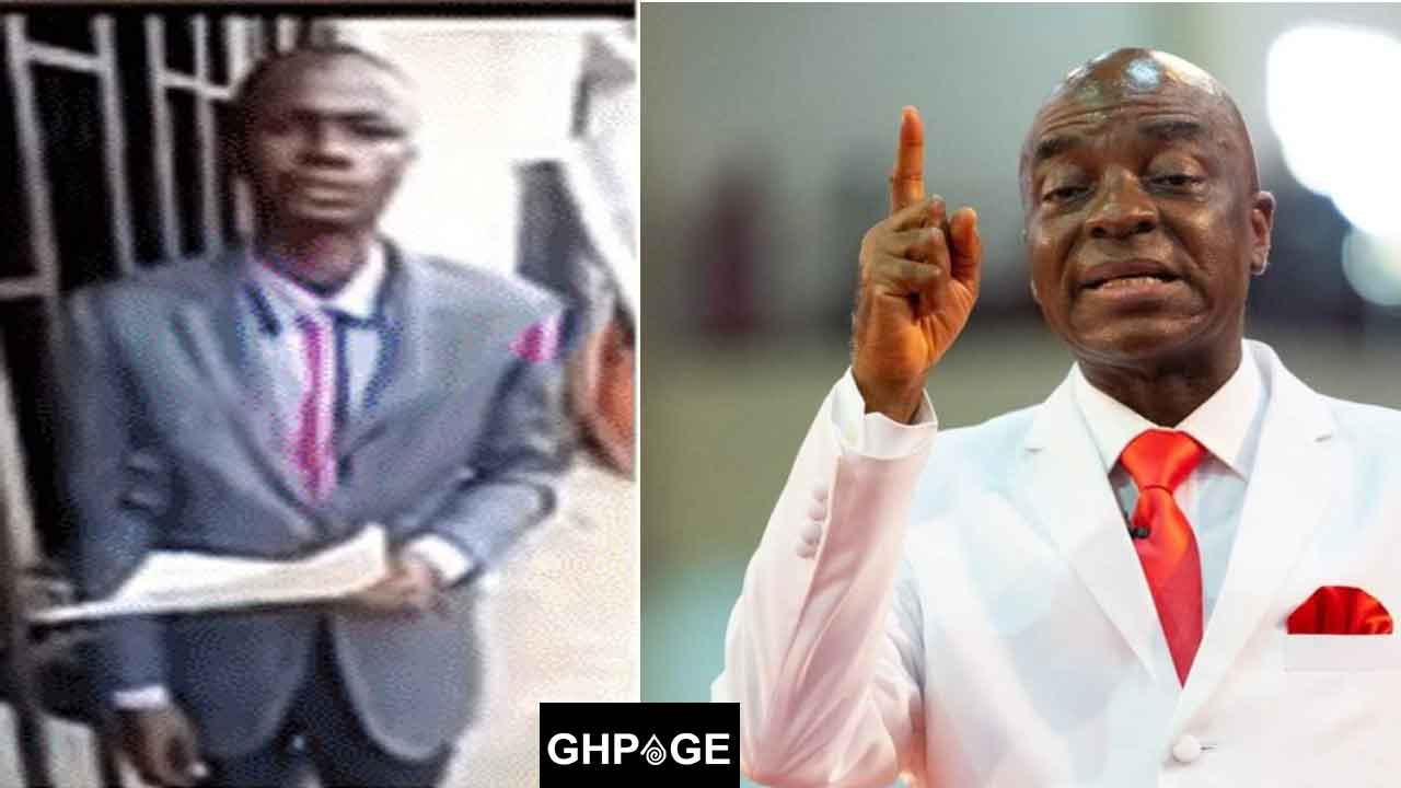 Pastor Oyedepo and Peter Godwin