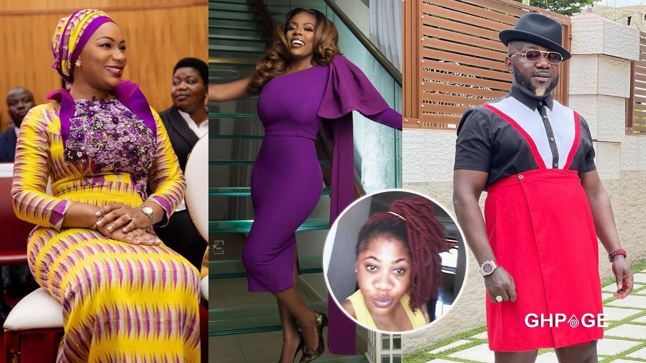 Samira Bawumia Nana Aba Anamoah and Osebo