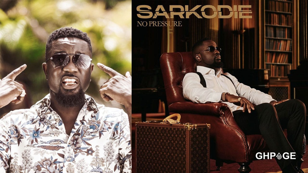 Sarkodie to release 'No Pressure' album on July 30th