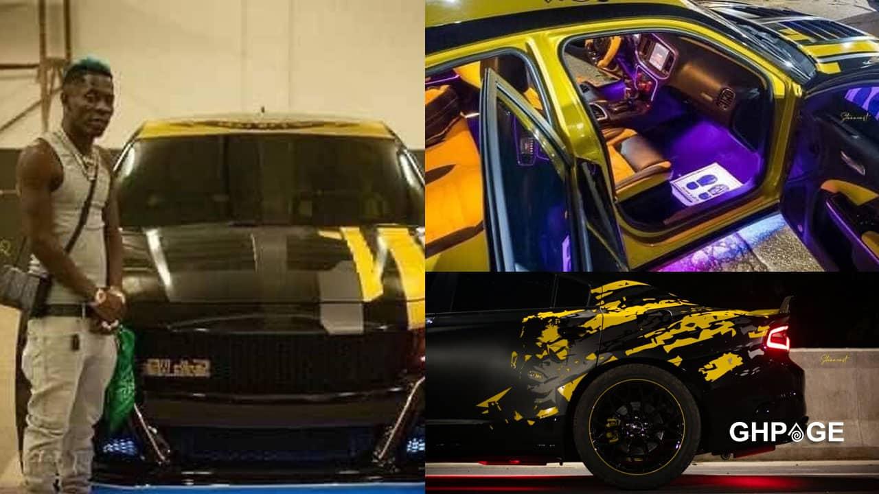 Shatta Wale customised his Dodge