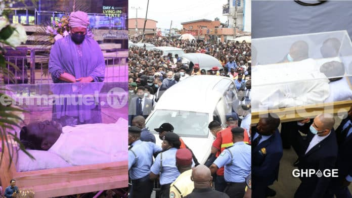Prophet T.B Joshua laid in state