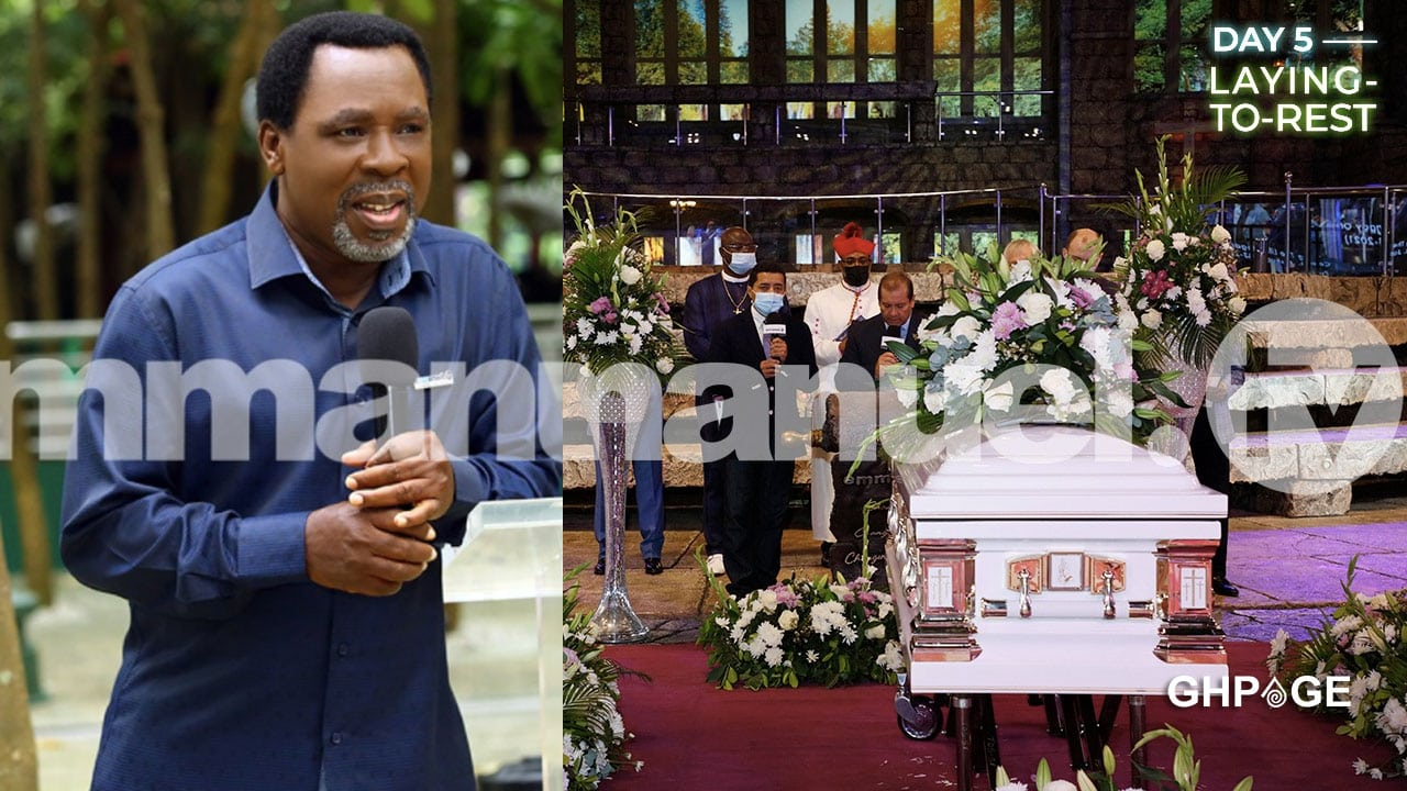 Prophet T.B Joshua finally laid to rest