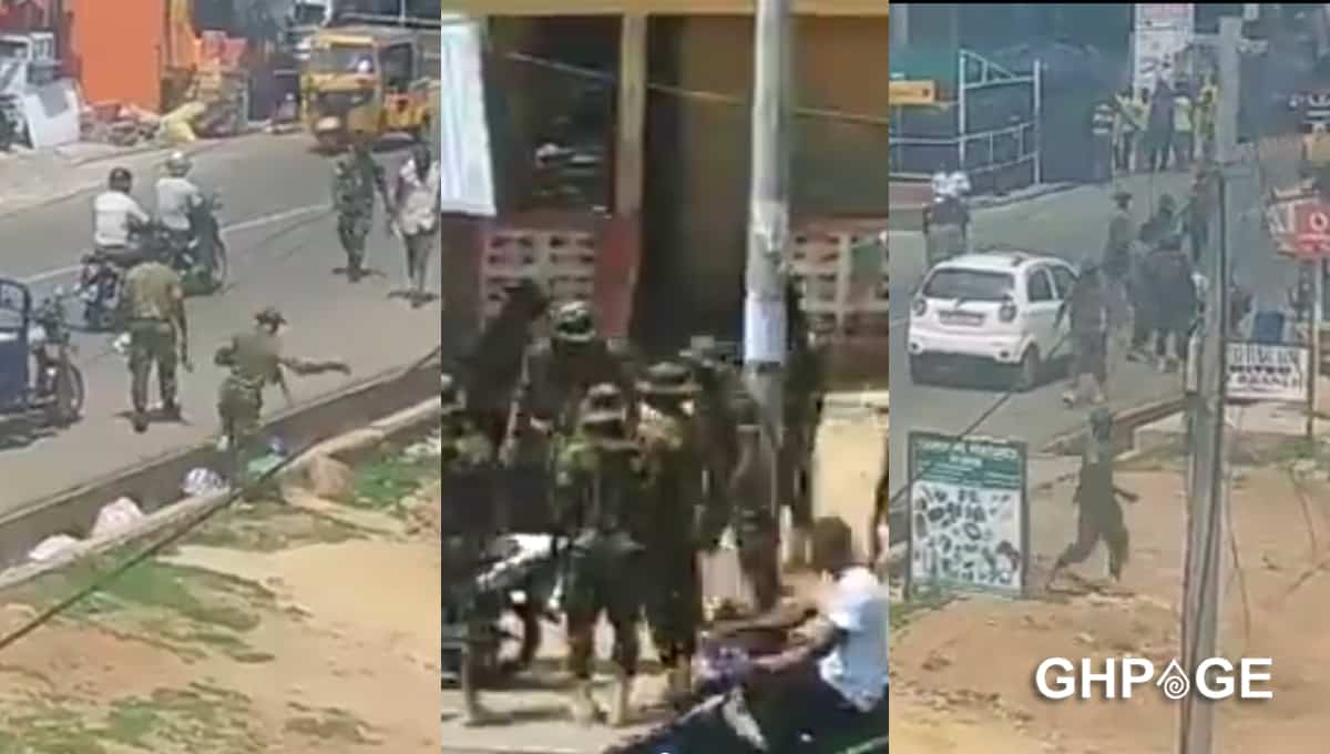 soldiers brutalise residents in wa