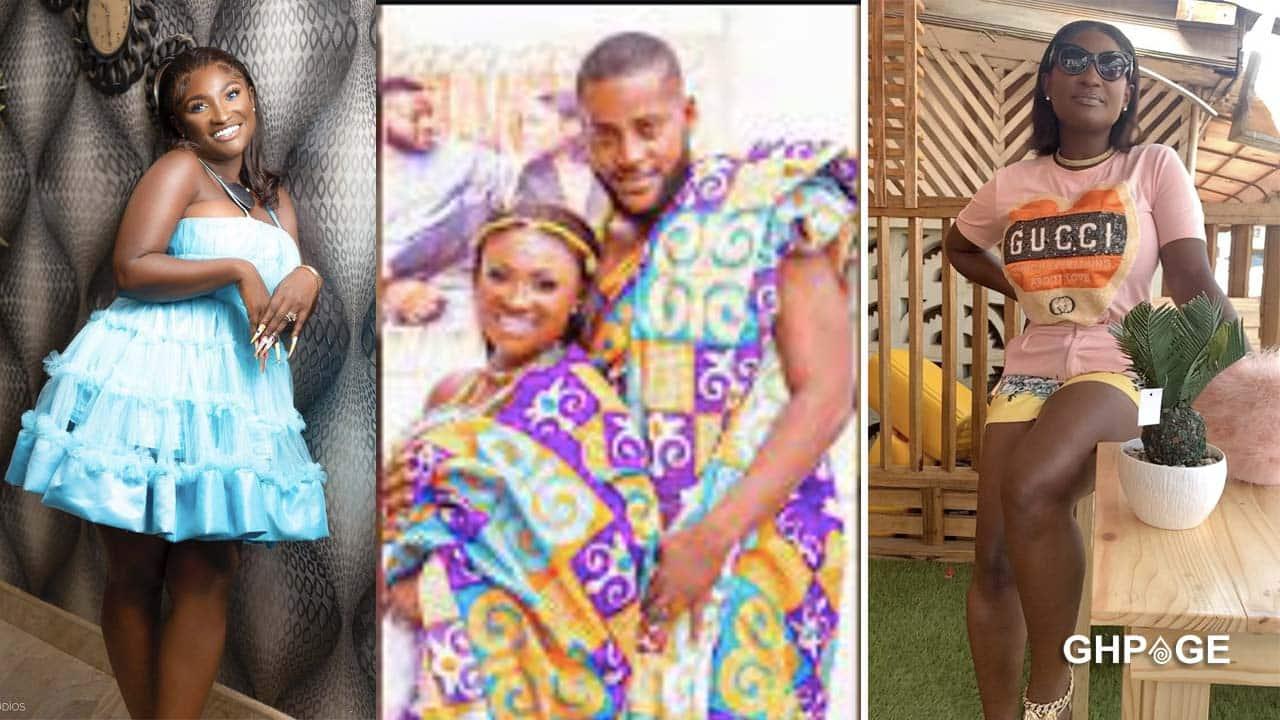 Video of Abena Moet and husband chopping love hits social media