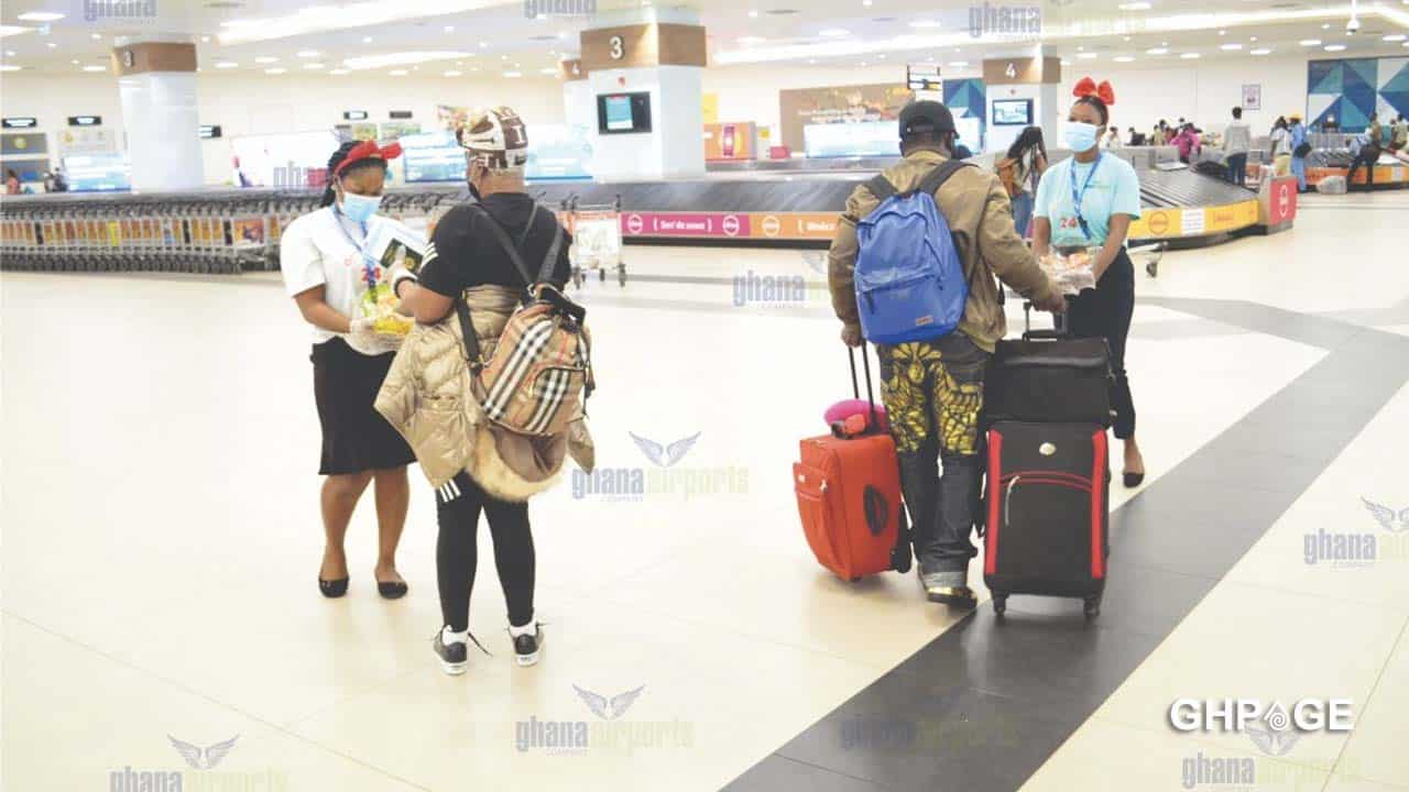 Two roommates clash at the Kotoka International airport after deceiving each other