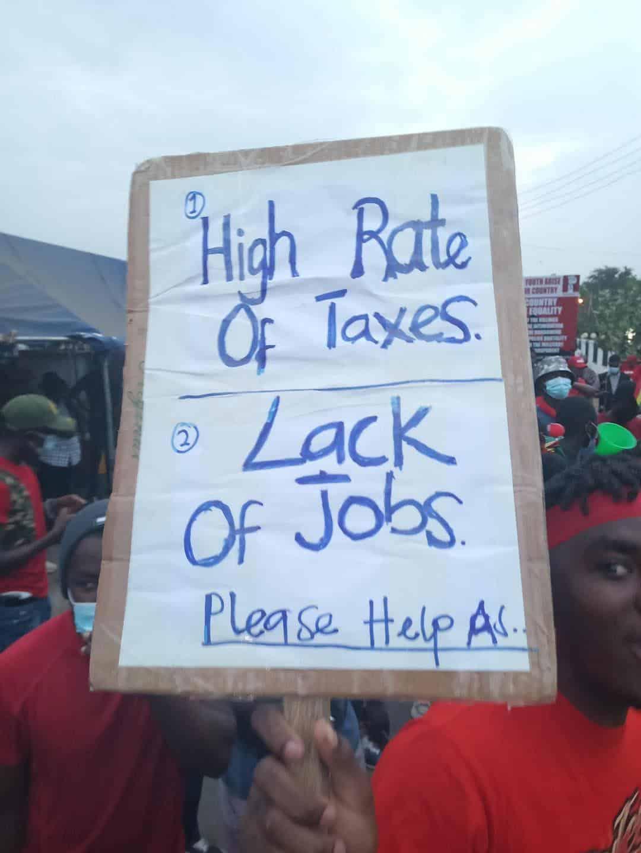 #FixTheNation Demonstration in Ghana