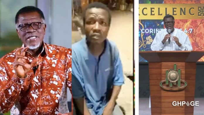 Young 'street' man claiming to be the biological son of Mensa Otabil pops up
