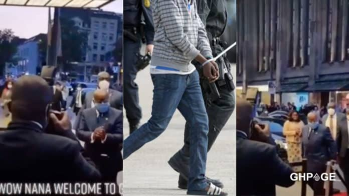 Ghanaian man asking Nana Addo to fix the country in Germany allegedly deported