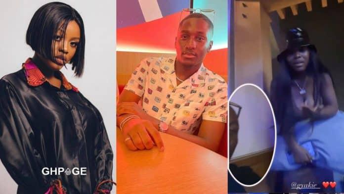 Saahene allegedly dating Gyakie