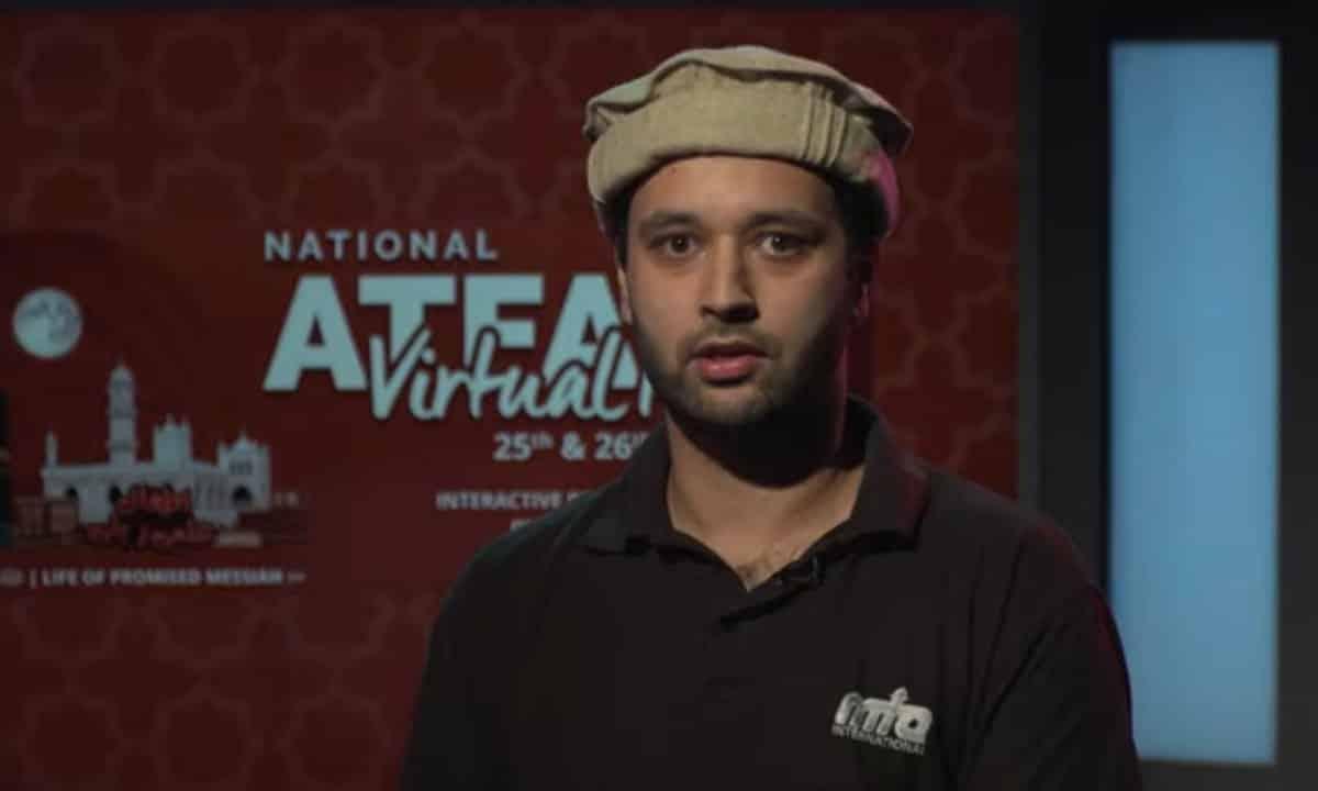 International journalist Taalay Ahmed