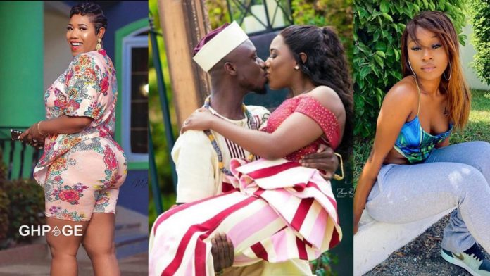 Victoria Lebene and husband, Nkonkonsa - Efia Odo