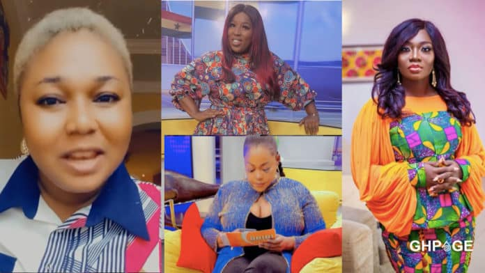 Xandy Kamel finally explains the alleged beef between herself and Stacy Amoateng at Angel TV