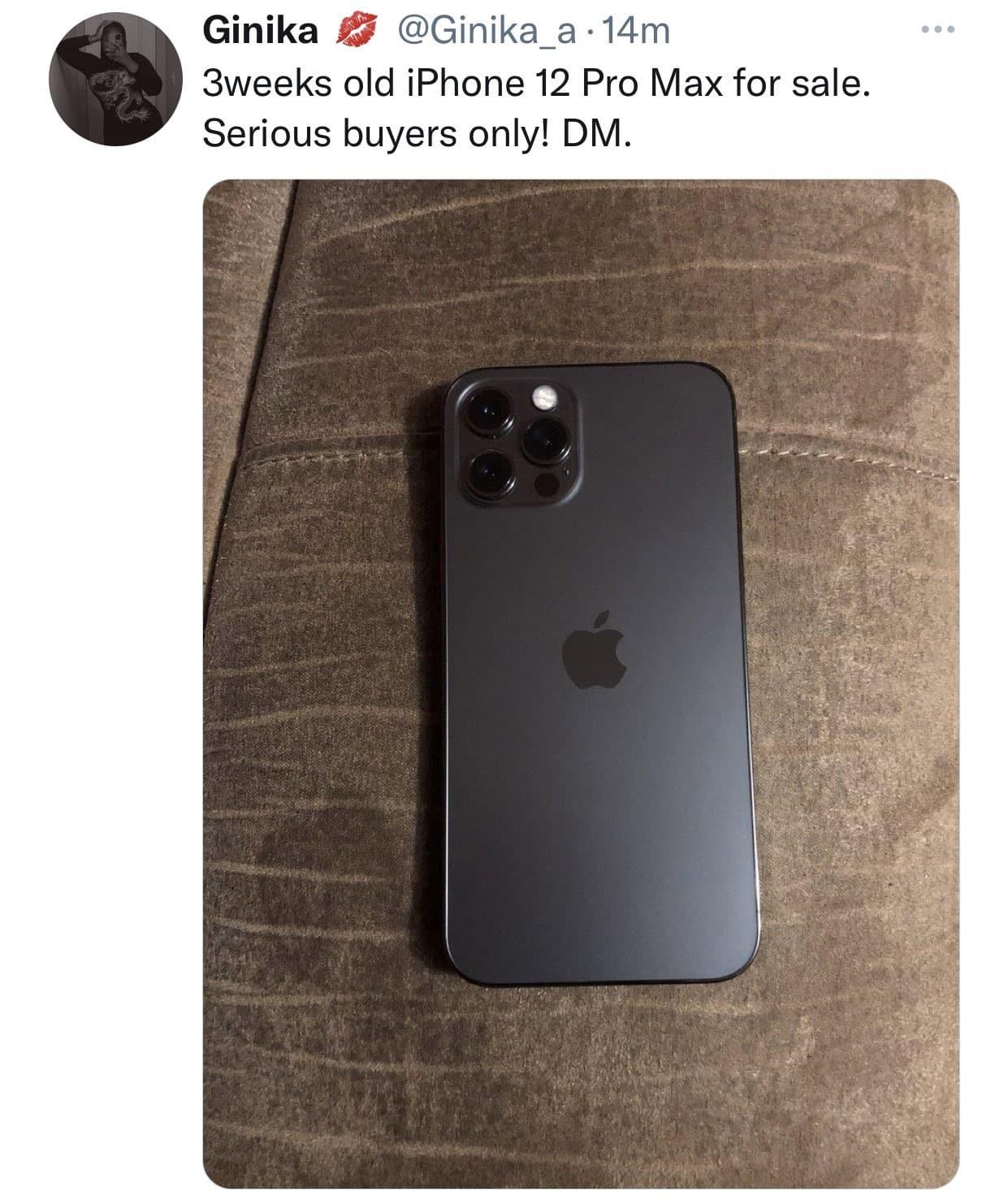 ginika iphone 12