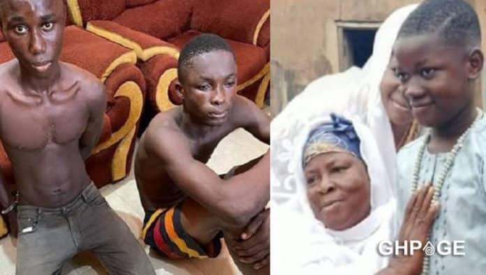 kasoa ritual killing suspect victim
