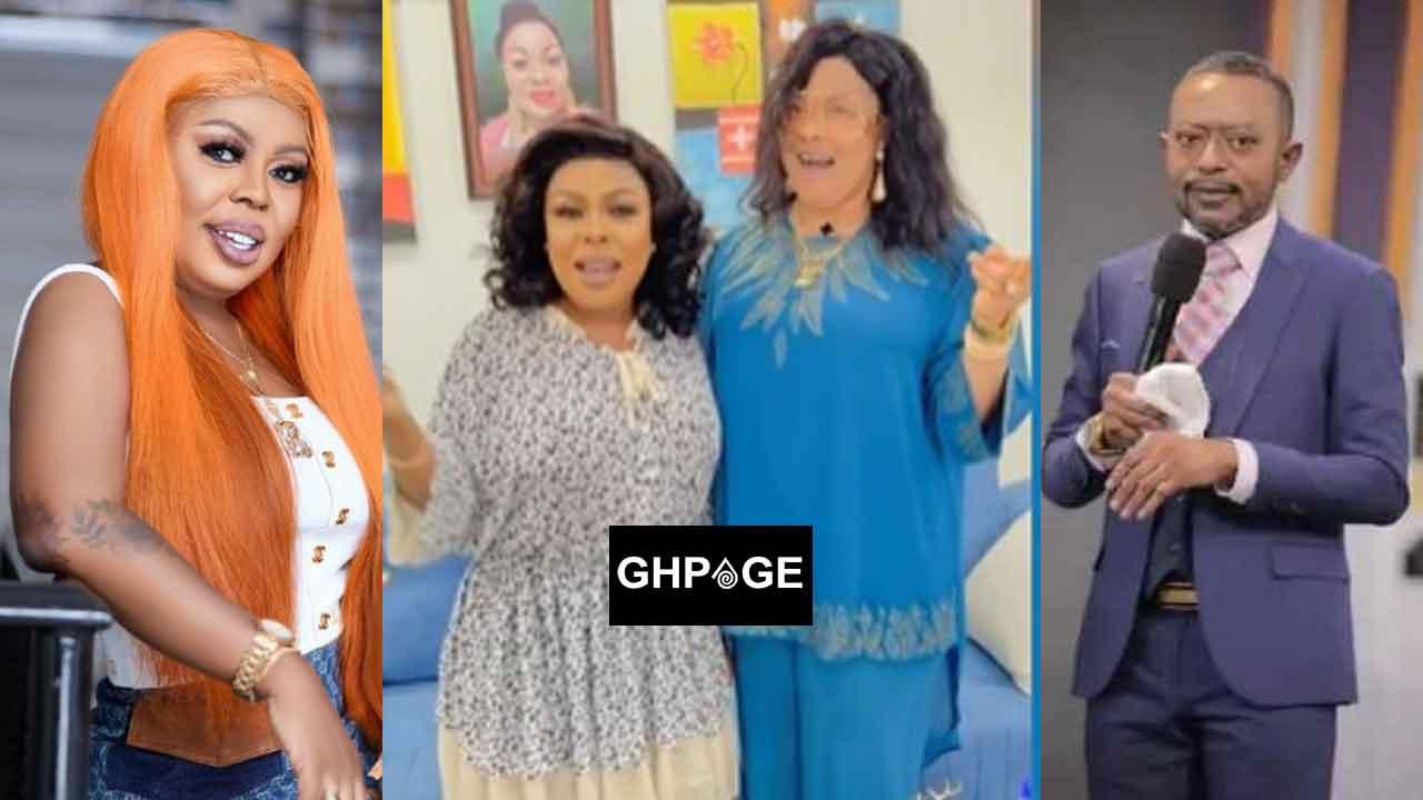 Afia Schwarzenegger, Nana Agradaa and Rev Owusu Bempah