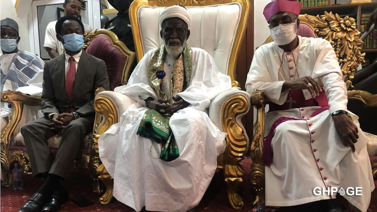 I wasn't forced to donate for the building of the cathedral - Chief Imam