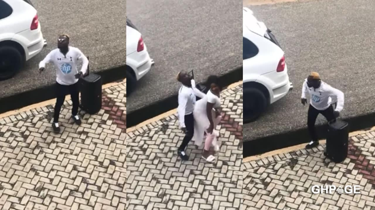 Funny Face storms Koforidua Technical University to dance with female students in public(VIDEO)