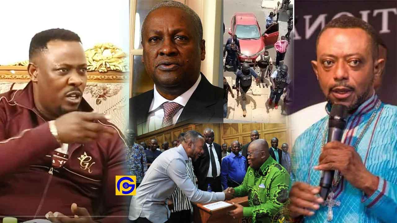Nigel Gaisie, Owusu Bempah & John Mahama