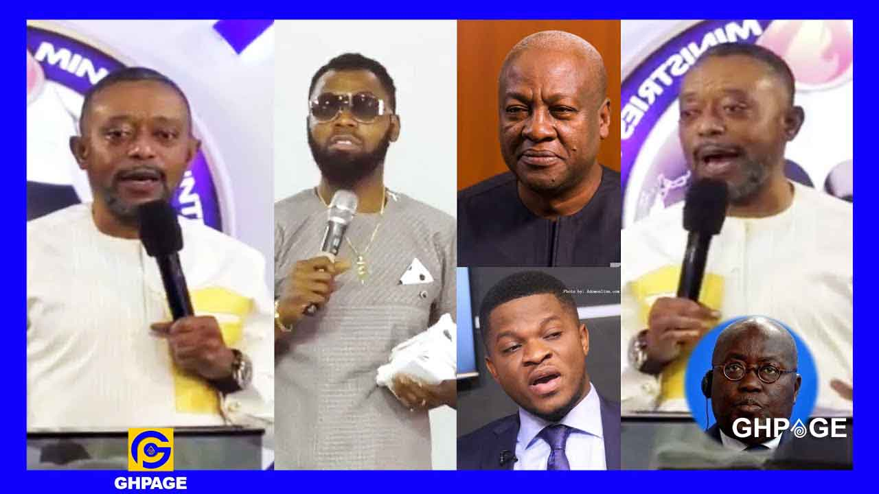 Rev. Owusu Bempah makes first appearance in church after his arrest (VIDEO)
