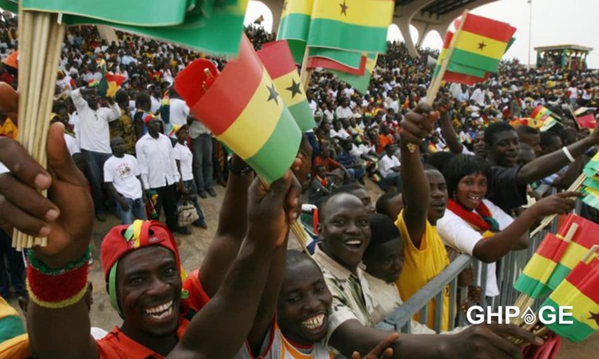 ghanaians jubilating