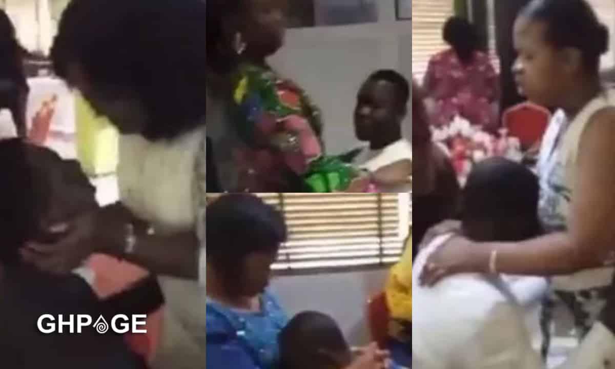 women praying for husband against cheating